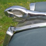 side view Fiat hood ornament